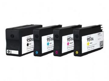 Refurbished 4 Colour HP 950XL & HP 951XL Ink Multipack - (CN045AE/CN046AE/CN047AE/CN048AE)